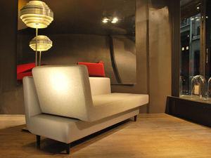Anegil - basic gold - modèle l - Lounge Sofa