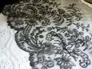 UN SOUFFLE D'ANTAN - dentelle de chantilly - Lace Braid
