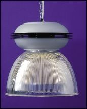 Commercial Lighting Systems - acrylic prismatic version - Hanging Lamp