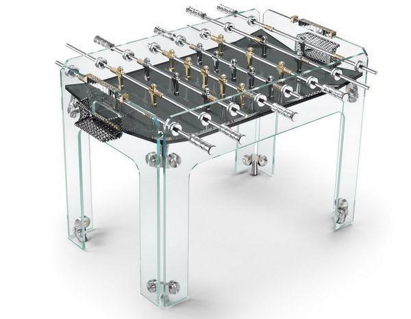 Teckell - Football table-Teckell-Cristallino Gold Limited Edition