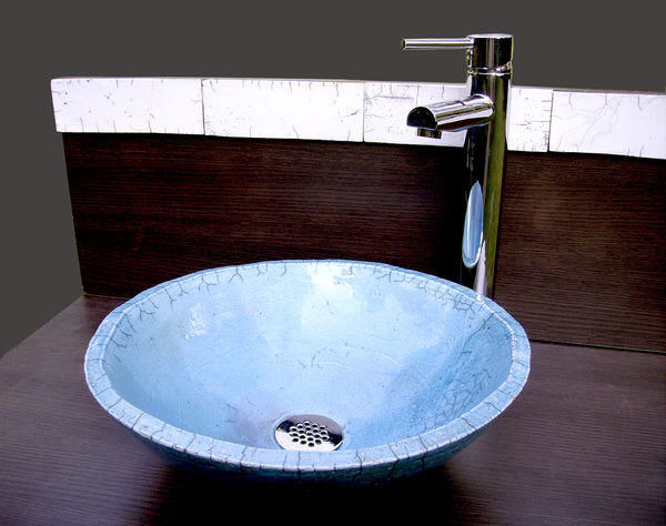 KAOLIN CREATIONS - Freestanding basin-KAOLIN CREATIONS-Turqoise