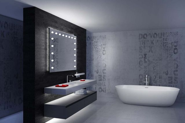 UNICA MIRRORS DESIGN - Bathroom mirror-UNICA MIRRORS DESIGN-DIVINO XL