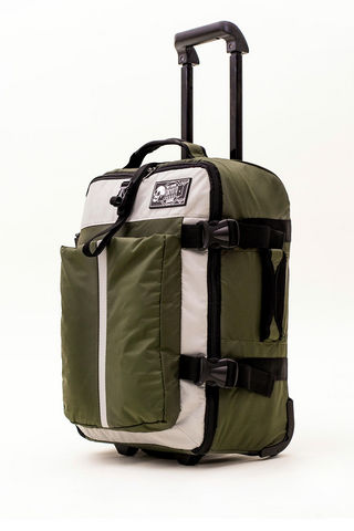 TOKYOTO LUGGAGE - Suitcase with wheels-TOKYOTO LUGGAGE-SOFT GREEN