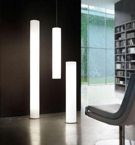 Lyxo by Veca - Illuminated column-Lyxo by Veca-Vertigo indoor terra