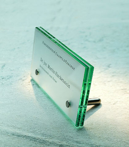 Signsystems - House plaque-Signsystems-Cristallo