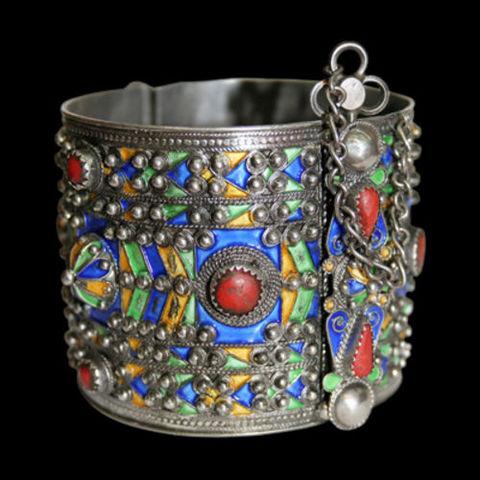 Algerian Handicrafts - Anklet-Algerian Handicrafts-Bracelet Berbère Ameluh