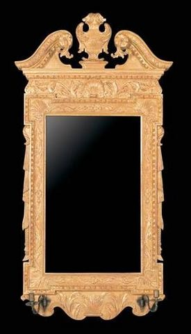 The English House - Mirror-The English House-George II Architectural Mirror