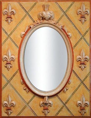 Miroirs et trumeaux Daniel Mourre - Mirror-Miroirs et trumeaux Daniel Mourre-Angélique