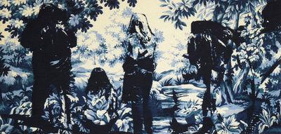 NEOLICE - Modern tapestry-NEOLICE-En Forêt E1
