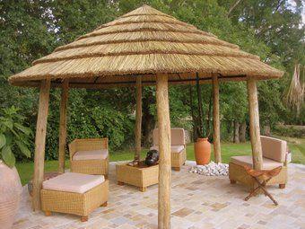 Casa-Africa - Garden hut-Casa-Africa-SAVANNALODGE RONDE 4 M SUR 6 POTEAUX