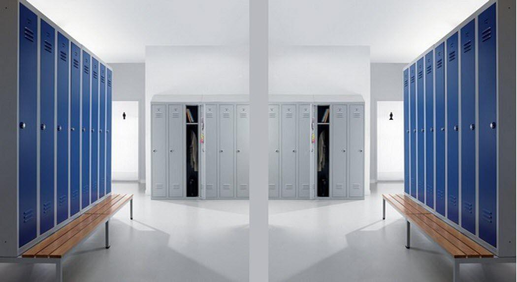 H&S Mobilier de bureau Büro-Garderobe Schränke und Regale Büro   