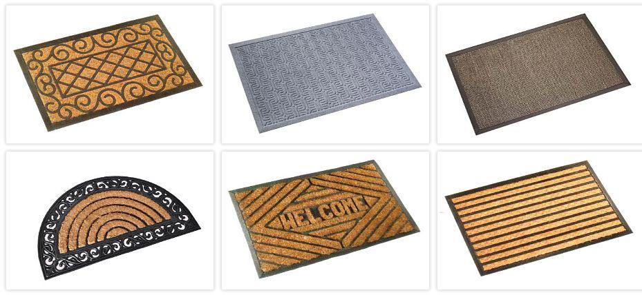 ROCOWORLD Fussmatte Abtreter und Matten Teppiche   
