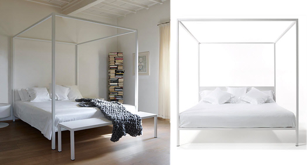 OPINION CIATTI Doppel-Himmelbett Doppelbett Betten  |
