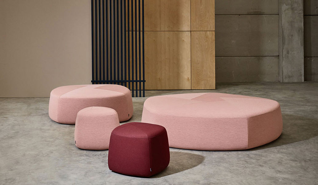 CAPDELL Sitzkissen Schemel und Beinauflage Sitze & Sofas   
