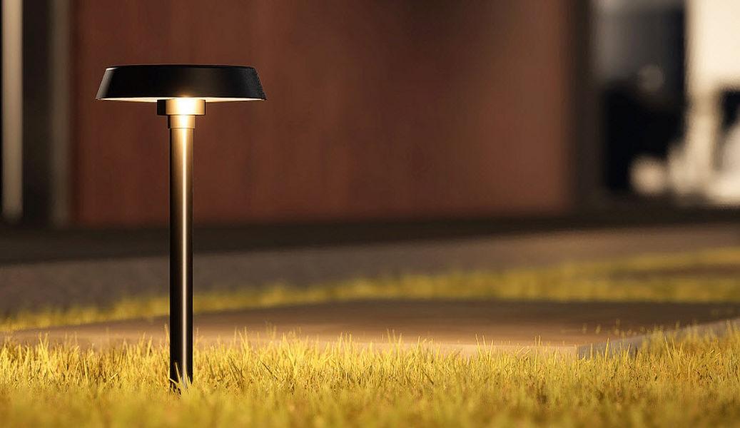 GHIDINI Leuchtpfosten Bodenbeleuchtungen Außenleuchten  |