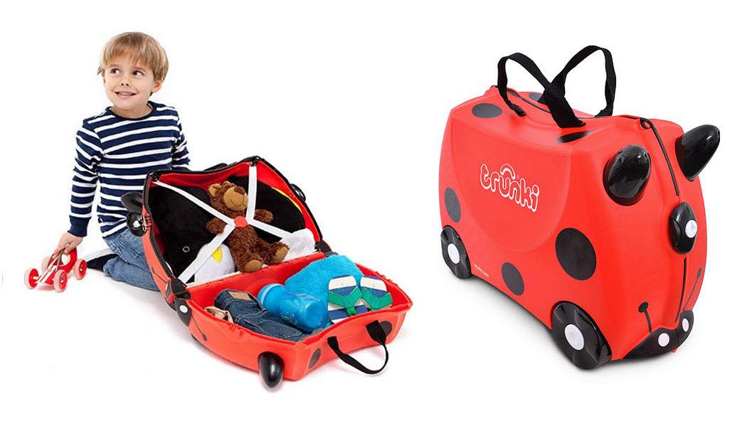 TRUNKI Kinderkoffer Kinderwagen Kinderecke  |