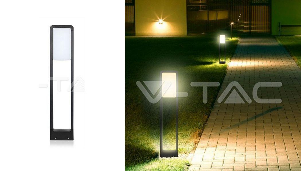 V-TAC Leuchtpfosten Bodenbeleuchtungen Außenleuchten  |