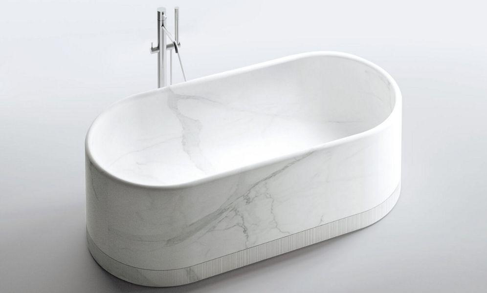 NOORTH Freistehende Badewanne Badewannen Bad Sanitär  |