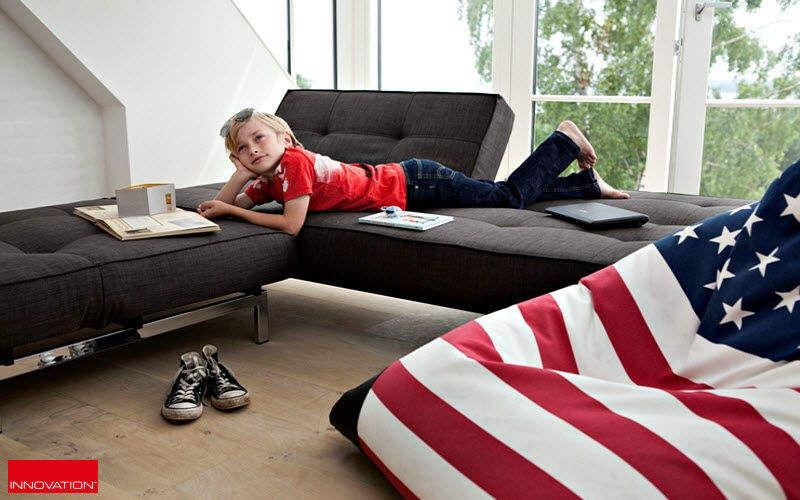 INNOVATION Gepolsterte Bank Sitzbänke Sitze & Sofas Wohnzimmer-Bar | Design Modern