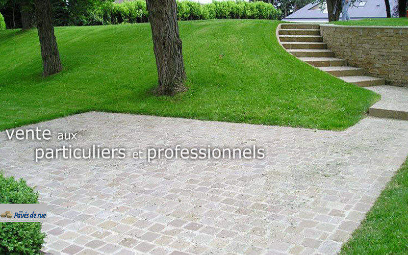 Pavés de Rue Pflaster Außenböden Böden Terrasse | Klassisch
