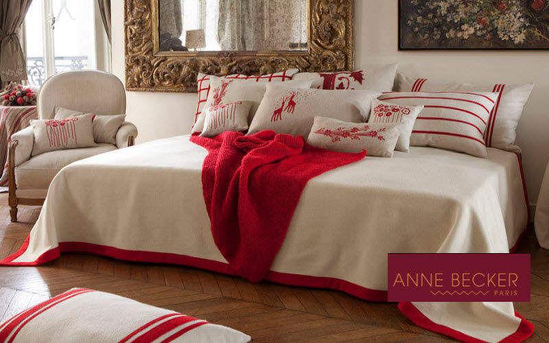 Anne Becker Tagesdecke Bettdecken und Plaids Haushaltswäsche Schlafzimmer | Land