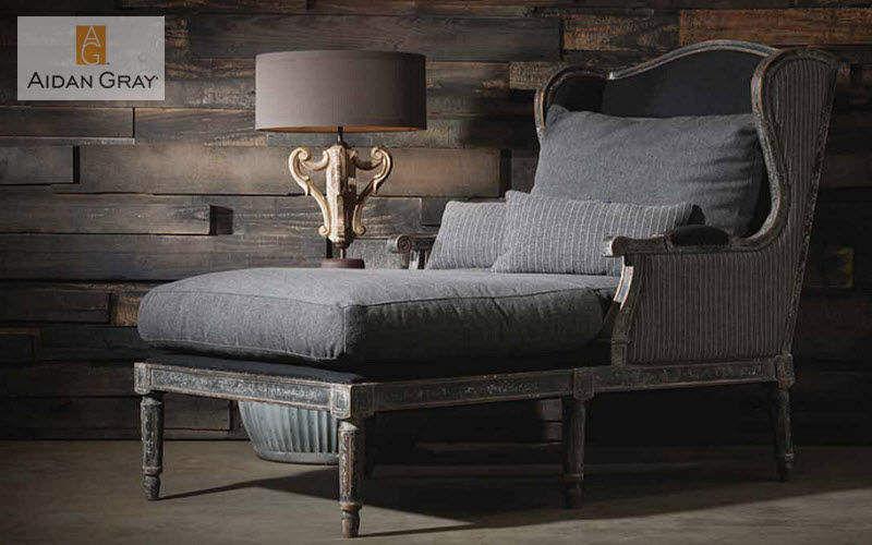 Aidan Gray Home Recamiere Einzelbett Betten Wohnzimmer-Bar   Klassisch