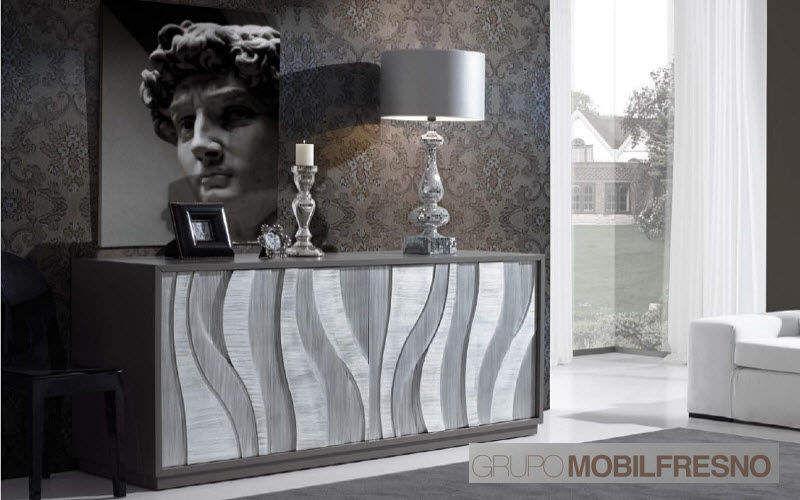 MOBIL FRESNO - AlterNative Barmöbel Barmöbel Tisch Wohnzimmer-Bar | Design Modern