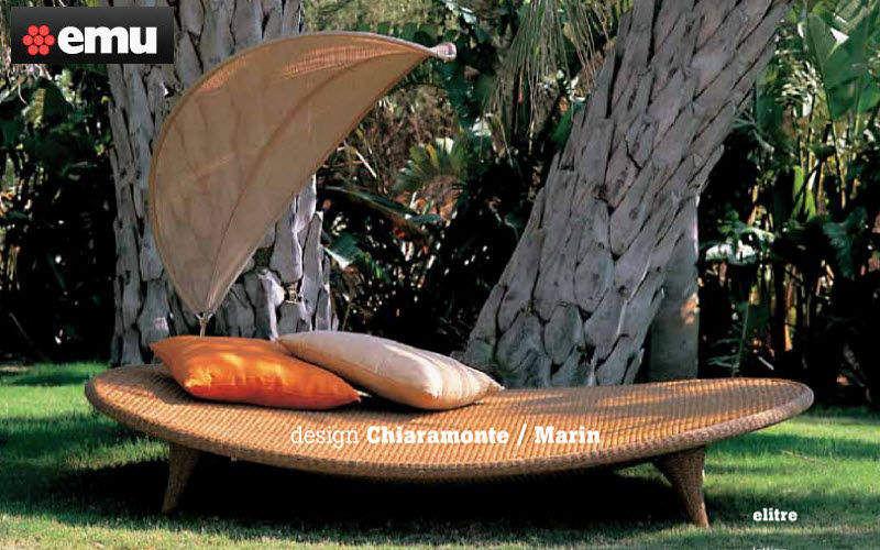 Emu Doppel Sonnenliege Gartenliegen Gartenmöbel Terrasse | Exotisch