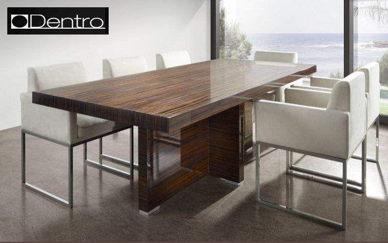 Dentro Home Rechteckiger Esstisch Esstische Tisch  |
