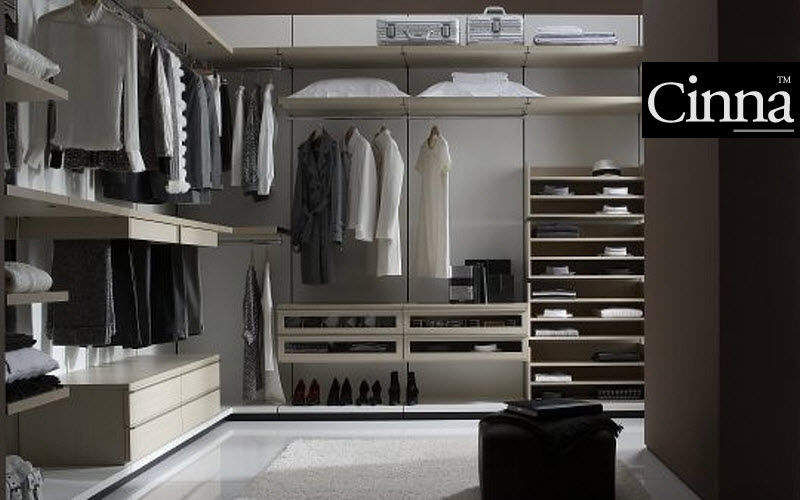 Cinna Dressing in U Ankleidezimmer Garderobe Schlafzimmer | Design Modern