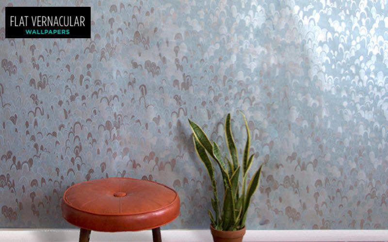 FLAT VERNACULAR Tapete Tapeten Wände & Decken Eingang | Unkonventionell