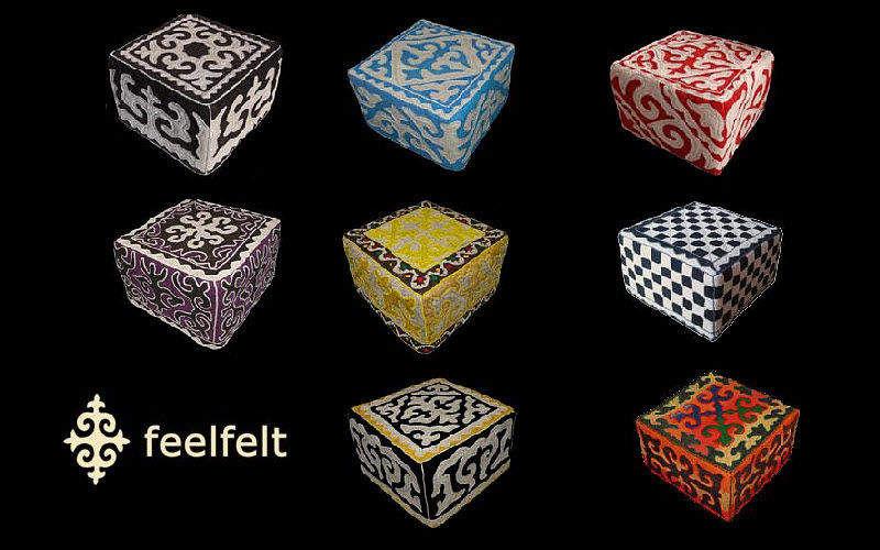 FEELFELT . feel good Sitzkissen Schemel und Beinauflage Sitze & Sofas   
