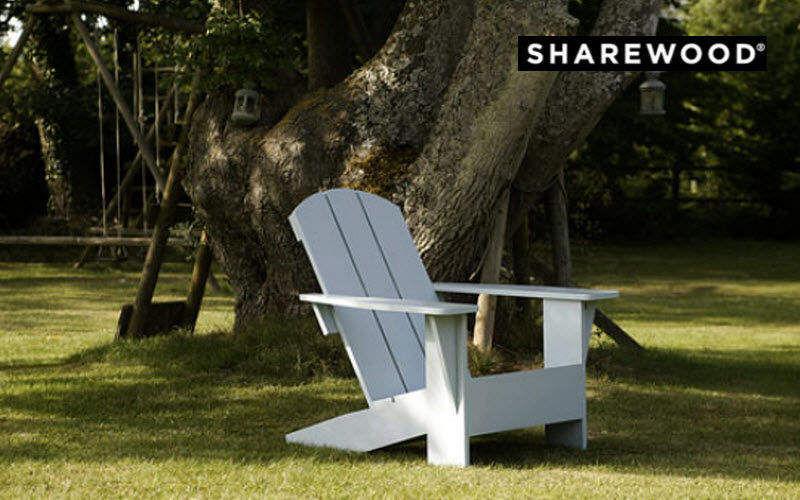 SHAREWOOD Adirondack Gartensessel Gartenmöbel  |