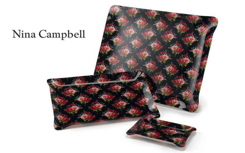 Nina Campbell Tablett Platte Küchenaccessoires Wohnzimmer-Bar   Land