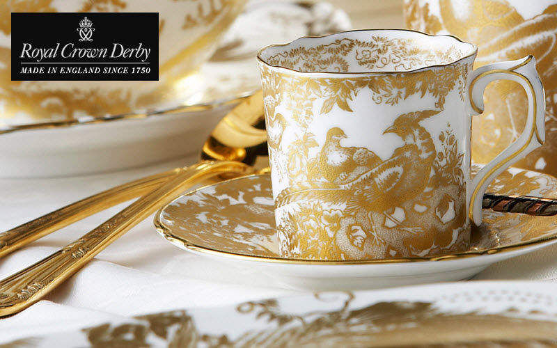 ROYAL CROWN DERBY Espresso-Tasse Tassen Geschirr  |