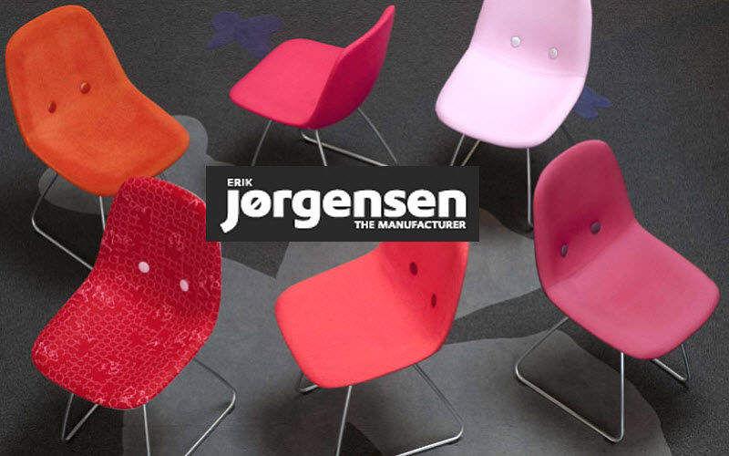 Erik Jørgensen Gemeinschafts Stuhl Bürostühle Büro  |