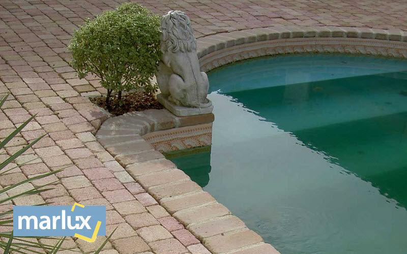 MARLUX Pflaster Außenböden Böden Garten-Pool | Klassisch