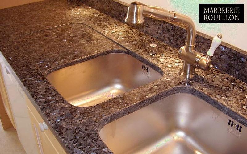 Marbrerie Rouillon Arbeitsplatte Küchenmöbel Küchenausstattung  |