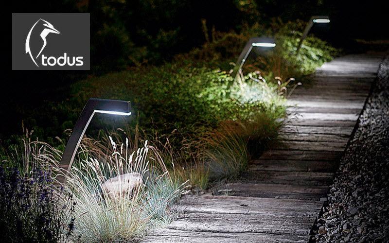 TODUS Leuchtpfosten Bodenbeleuchtungen Außenleuchten  |