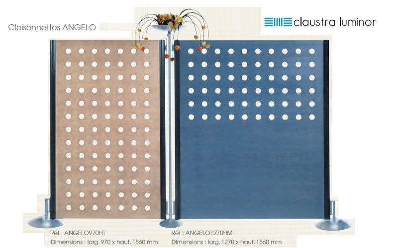 Claustra Luminor Spanische Wand, innen Trennwände Wände & Decken  |