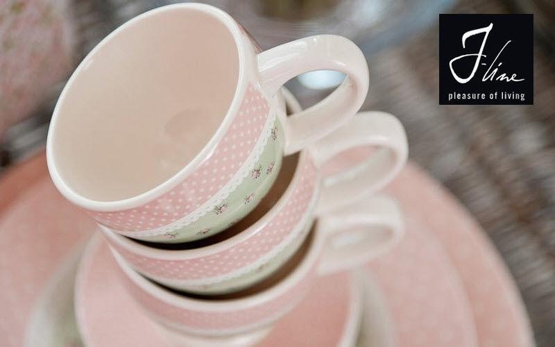 J-line Kaffeetasse Tassen Geschirr   