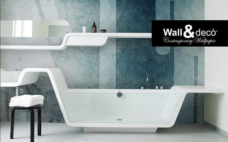 WALL & DECO Badtapete Tapeten Wände & Decken  |