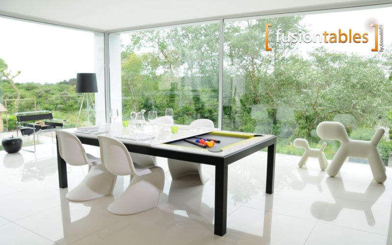 FUSIONTABLES Salon-Billardtisch Billardtische Spiele & Spielzeuge Terrasse   Design Modern