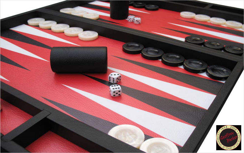 GEOFFREY PARKER GAMES Backgammon Gesellschaftsspiele Spiele & Spielzeuge  |