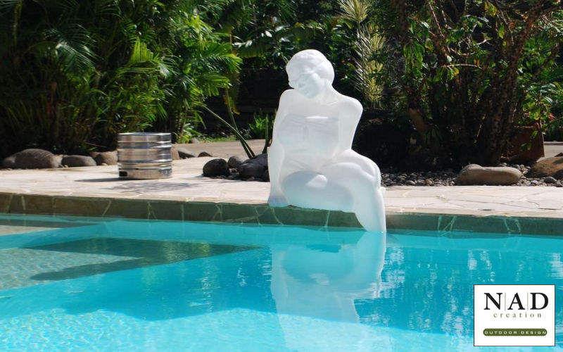 NAD CREATION Beleuchtete Statue Verschiedene Artikel zum Verschönern Verzierung  |