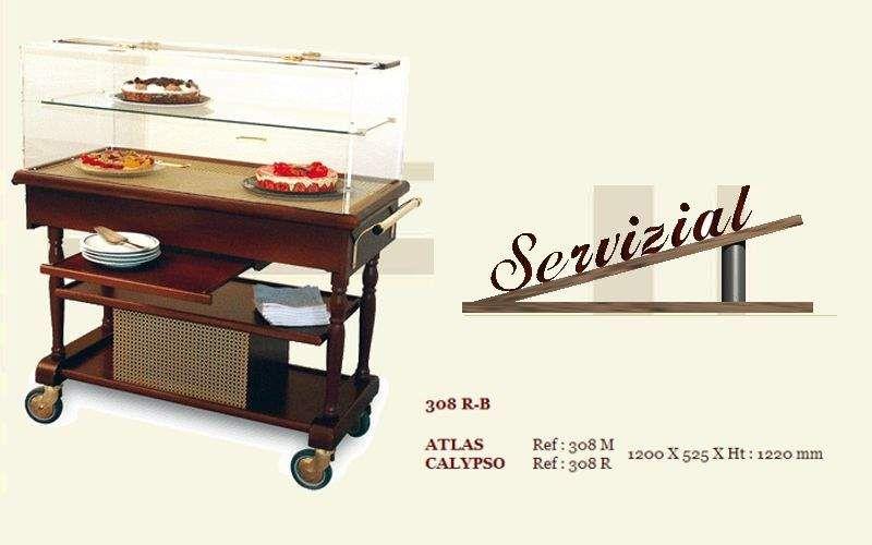Servizial Gebäckwagen Servierwagen Rolltische Tisch  |