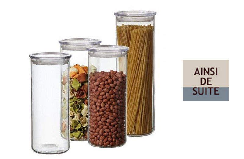 Ainsi de Suite Glas Aufbewahrung (Dosen-Töpfe-Gläser) Küchenaccessoires  |