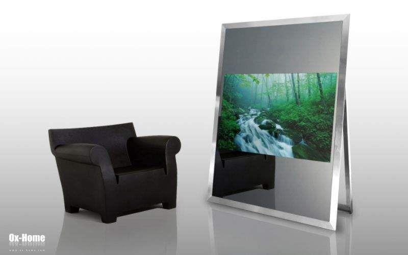 OX-HOME Spiegelfernseher Fernsehgeräte High-Tech Wohnzimmer-Bar | Design Modern