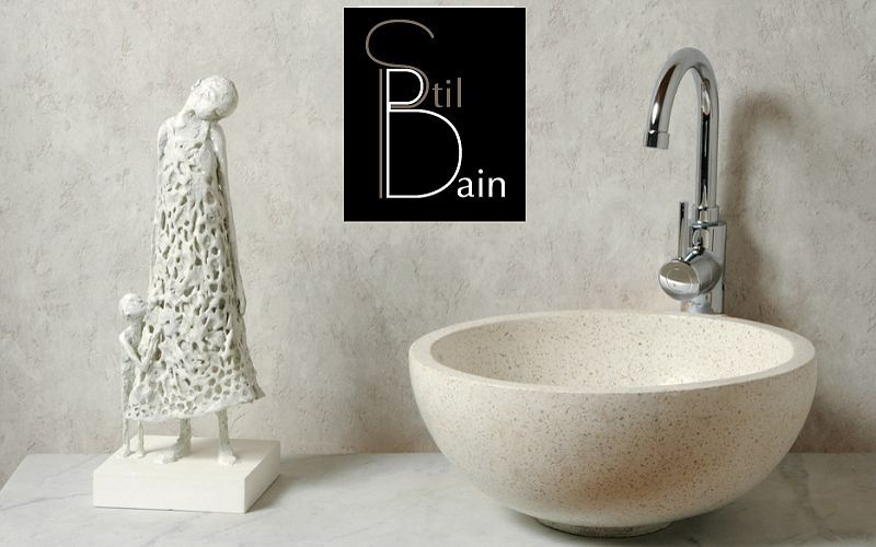 Stil Bain Waschbecken freistehend Waschbecken Bad Sanitär  |