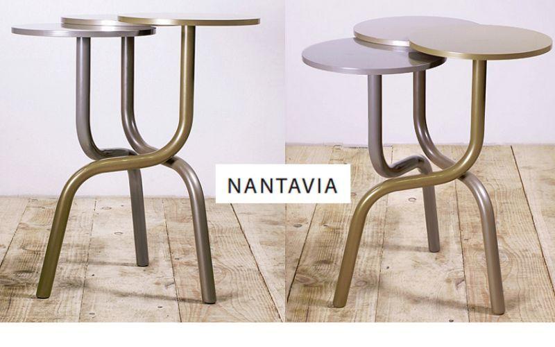 NANTAVIA Sockeltisch Beistelltisch Tisch  |
